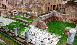 AMONG THE RUINS OF ANCIENT OSTIA